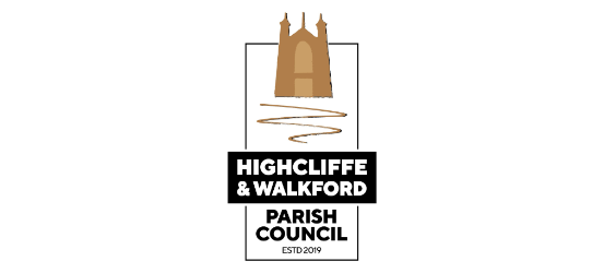 Highcliffe and Walkford Parish Council logo
